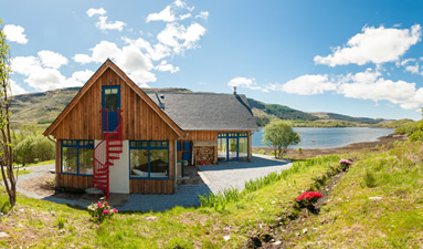 Self Catering Rahoy Morvern Ardnamurchan on West Coast of Scotland